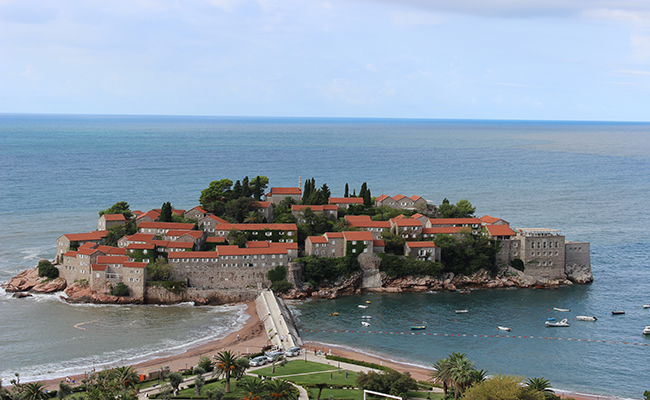 Sveti Stefan - jewel of Montenegro