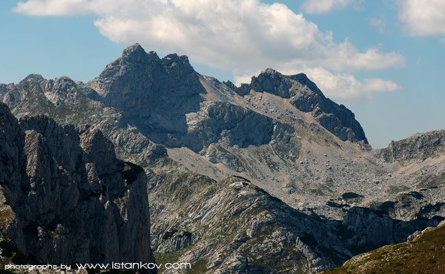 The highest peak of Durmitor, as well as Montenegro - Bobotov Kuk