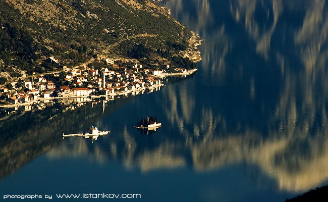 The most important historical site of Bay of Kotor - famous sailor's home - Medieval Town Perast